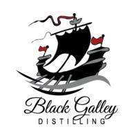Black Galley Distilling Logo Portrait Square