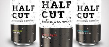 Half cut header