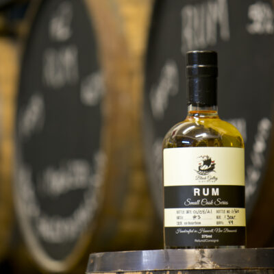 Black Galley Batch 3 Rum with Barrels August 2021 01