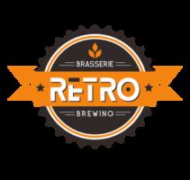 Brasserie retro logo